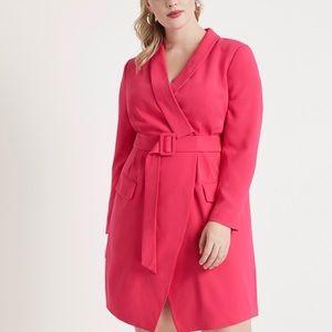 ELOQUII belted dress